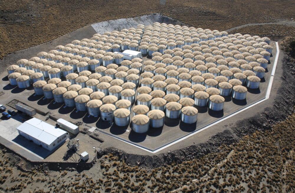 Uus vahend pulsarite leidmiseks: Mehhikos paiknev vesiteleskoop
