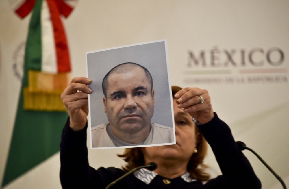 Joaquín Guzmán ehk El Chapo ehk Jupats on kogemustega vanglapõgenik.