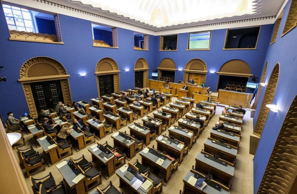 Riigikogu arutab olulise riikliku küsimusena Eesti eelarvestrateegiat