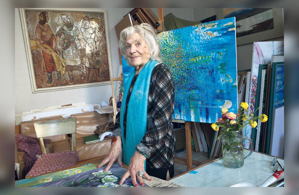 Valli Lember-Bogatkina: Mind on pintsel püsti hoidnud