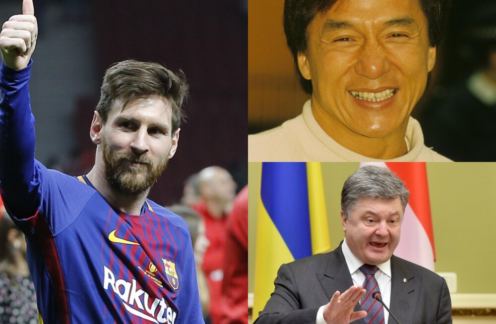 Lionel Messi, Jackie Chan ja Petro Porošenko - Panama paberid paljastasid hulganisti suursuguseid kliente