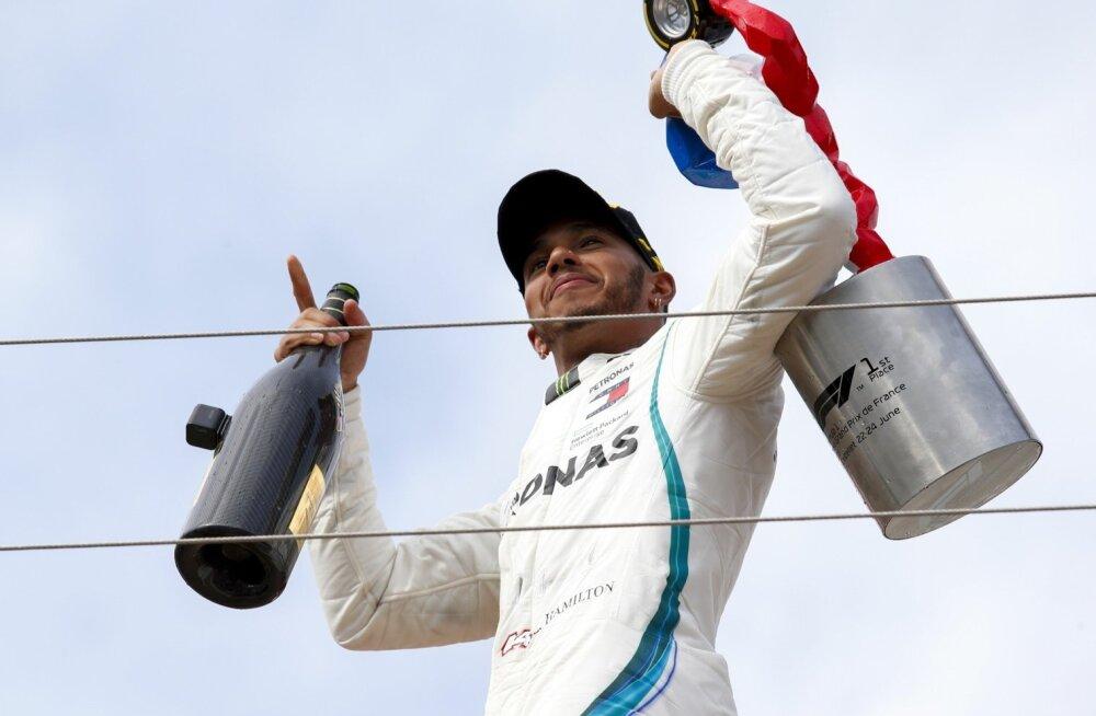 Lewis Hamilton on jahtimas viiendat MM-tiitlit.
