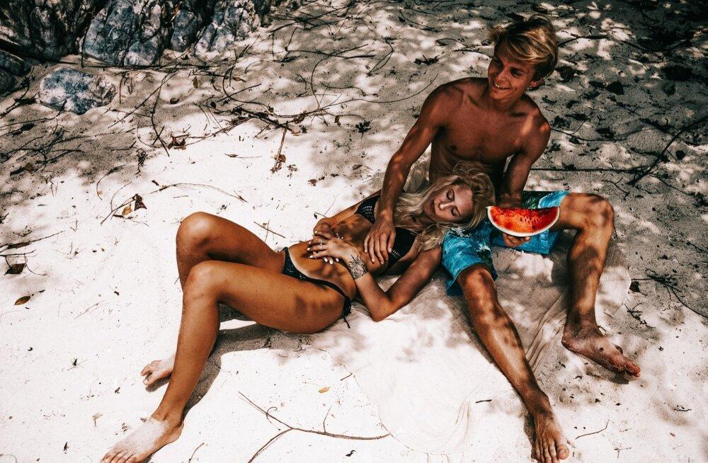 Tai, Maldiivid, California, Pariis... Juhani Särglep ja Katri Palm elavad reisimisest.