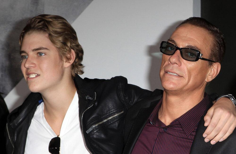 Jean-Claude Van Damme noorim poeg ähvardas oma korterikaaslast noaga