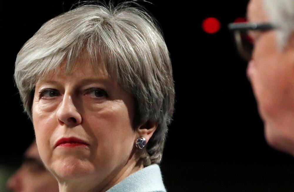 Theresa May võib Jean-Claude Juncerile ja EL-ile antud lubadustest taganeda, kui kaubanduslepinguni jõuda ei õnnestu.