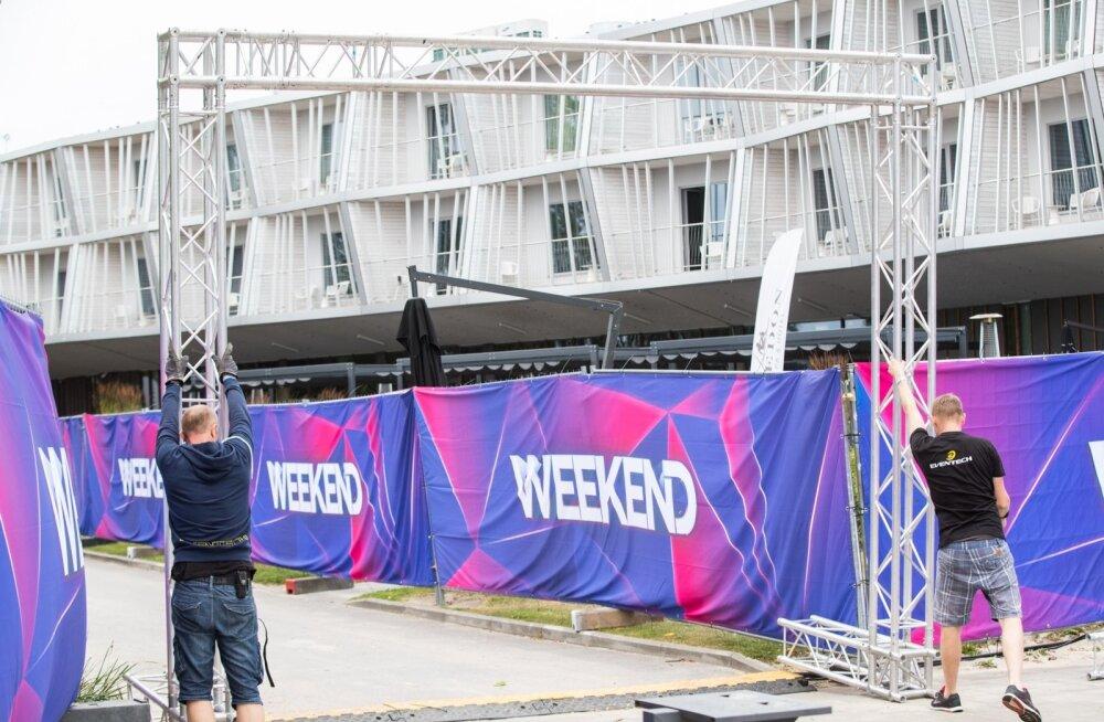 Weekend Festivaliks valmistumine on käinud juba üle nädala.