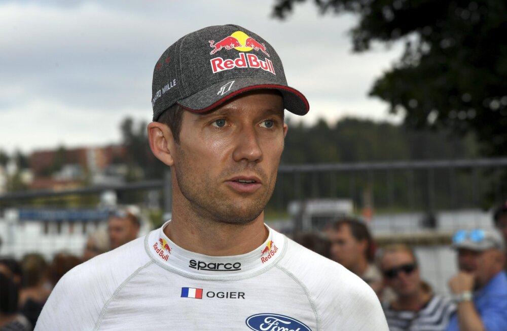 Sebastien Ogier: Tänakule on raske vastust leida