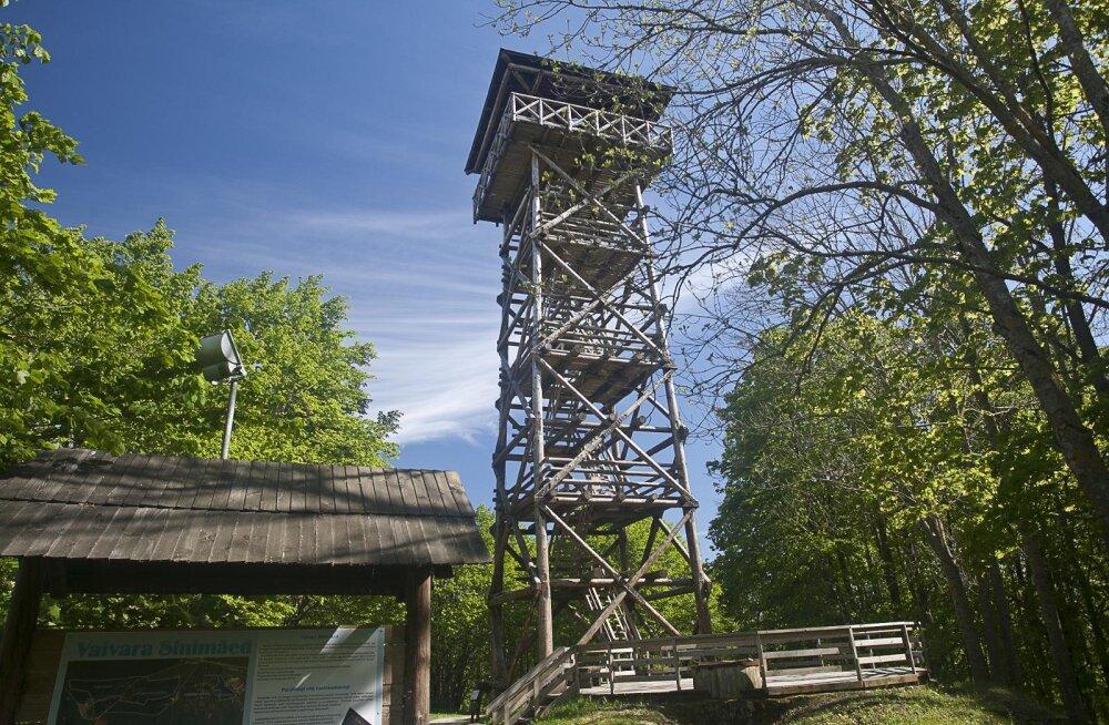 Смотровая башня в Синимяэ признана опасной и закрыта на неопределенное время