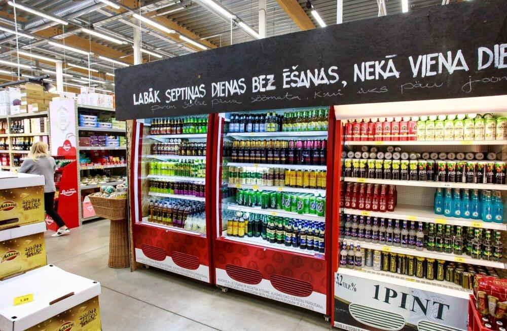 Piirikaubandus paneb Läti õlletootjad januseid eestlasi kiitma