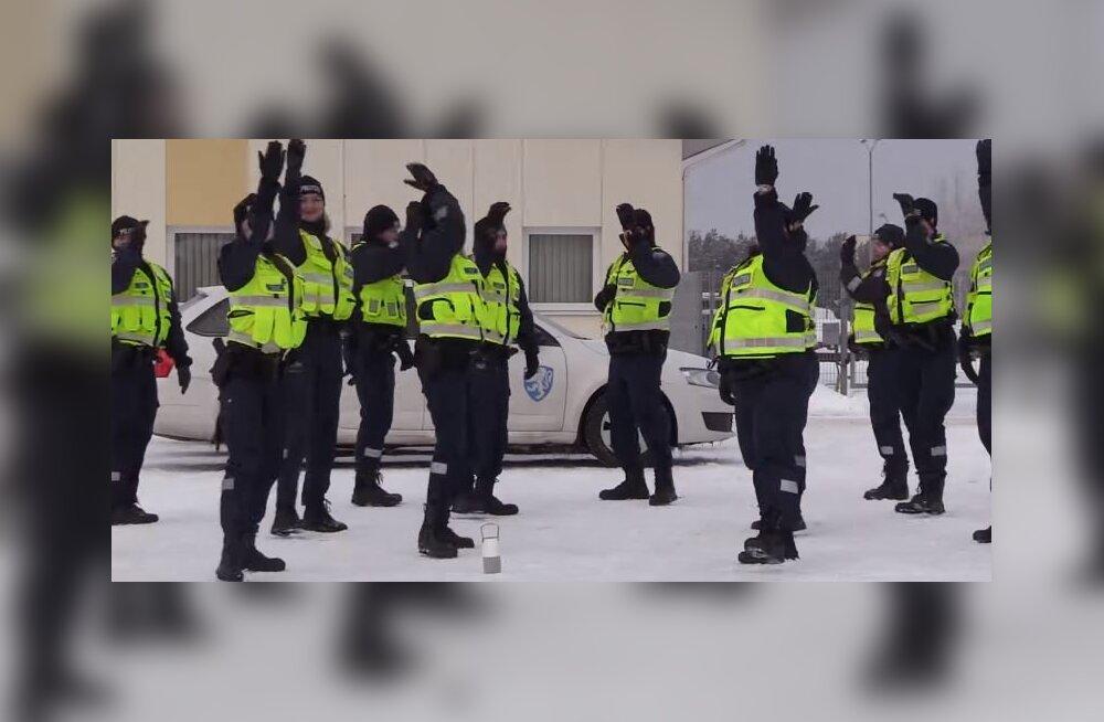 VAHVA VIDEO   Tantsulõvid! Lääne-Harju politseinikud esitavad oma versiooni populaarsest tantsust
