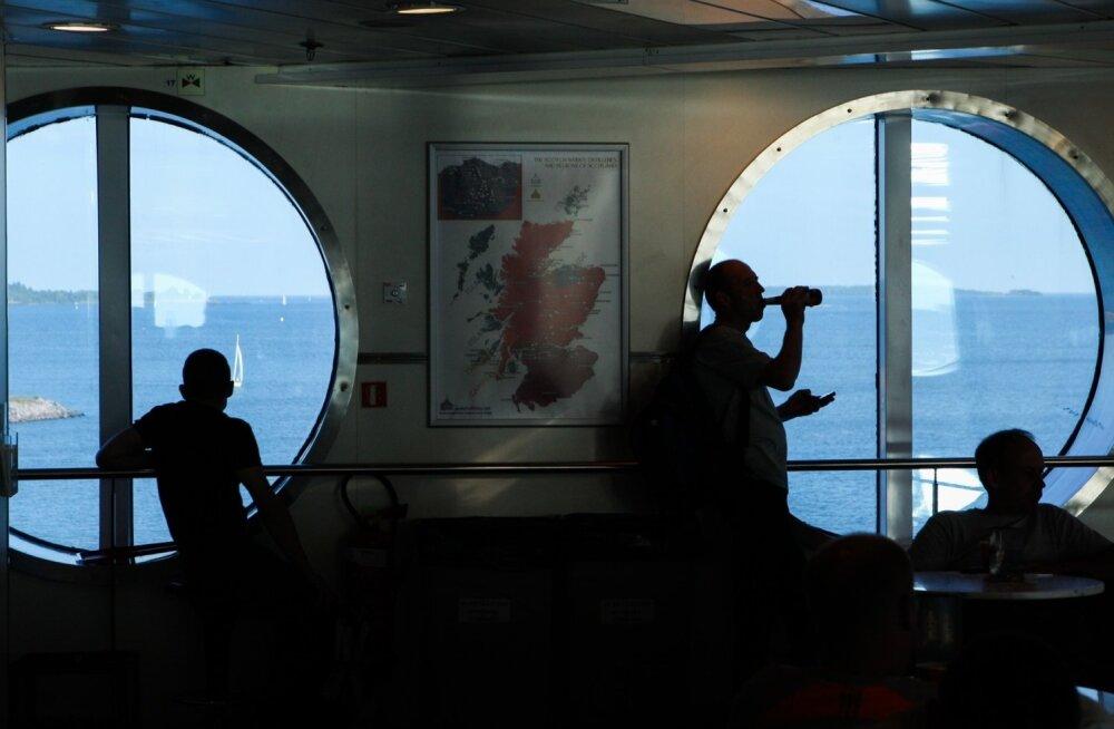 Eestlased Soome laeval