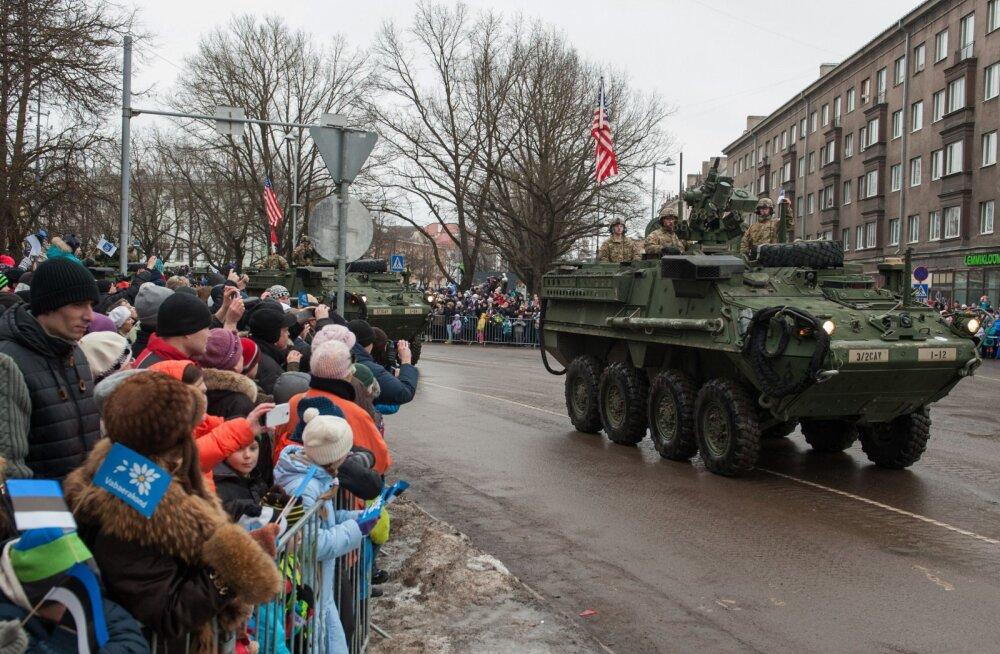 USA telekanal käis eestlastelt küsimas, miks peaks ameeriklased meid Venemaa eest kaitsma