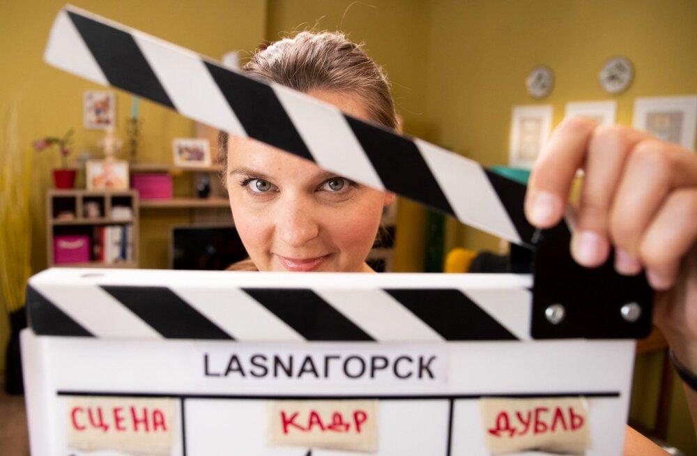 """""""Lasnagorski"""" tegevprodutsent Darja Saar tõdes, et Eesti venelased ei saa piisavalt sõna. Nüüd on neil võimalik ennast näidata."""