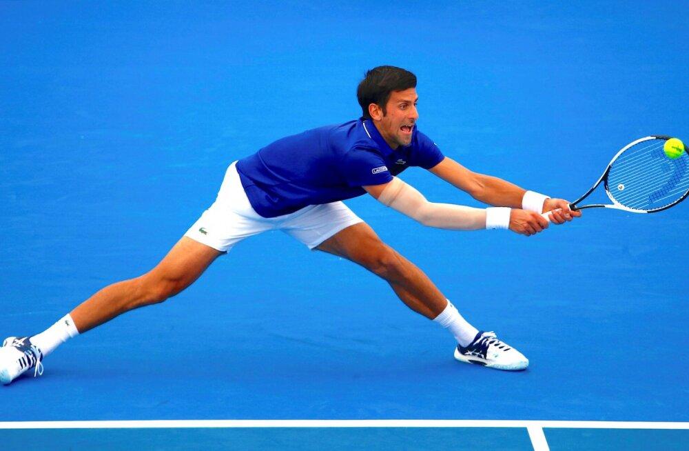Djokovic alustab seitsmenda Australian Openi tiitli jahtimist poolvigasena