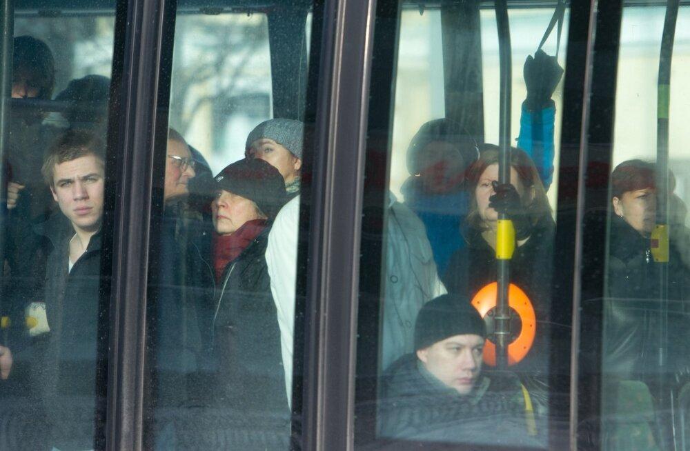 Hommikune ühistransport Tallinnas