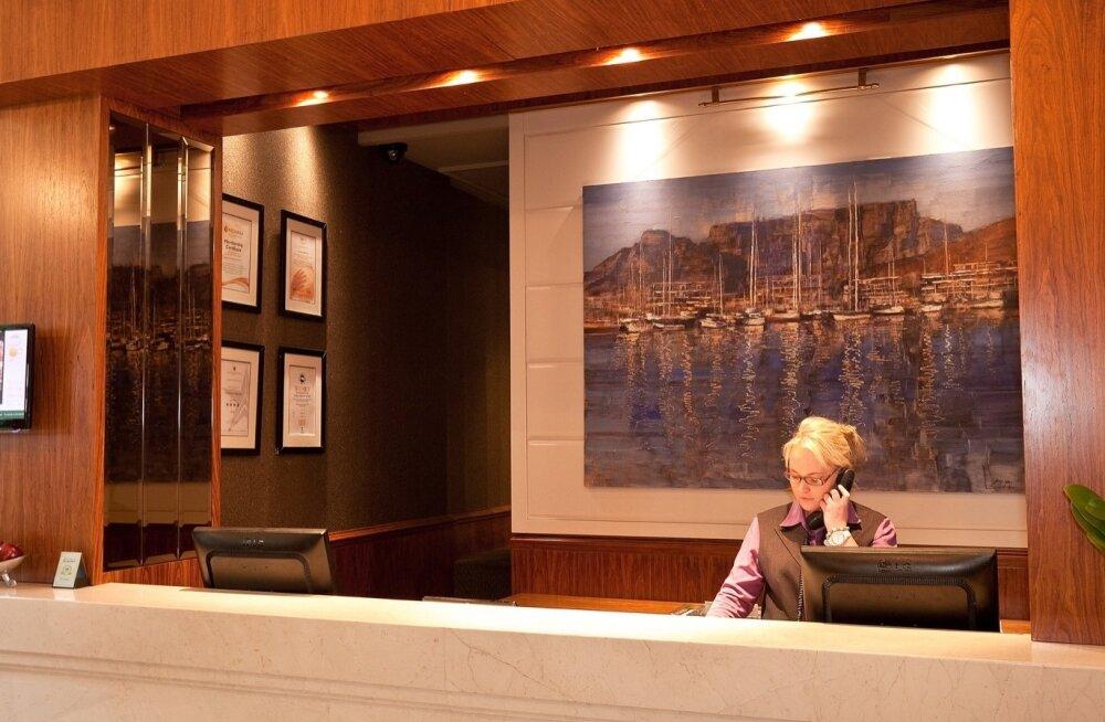 Hotelli reception