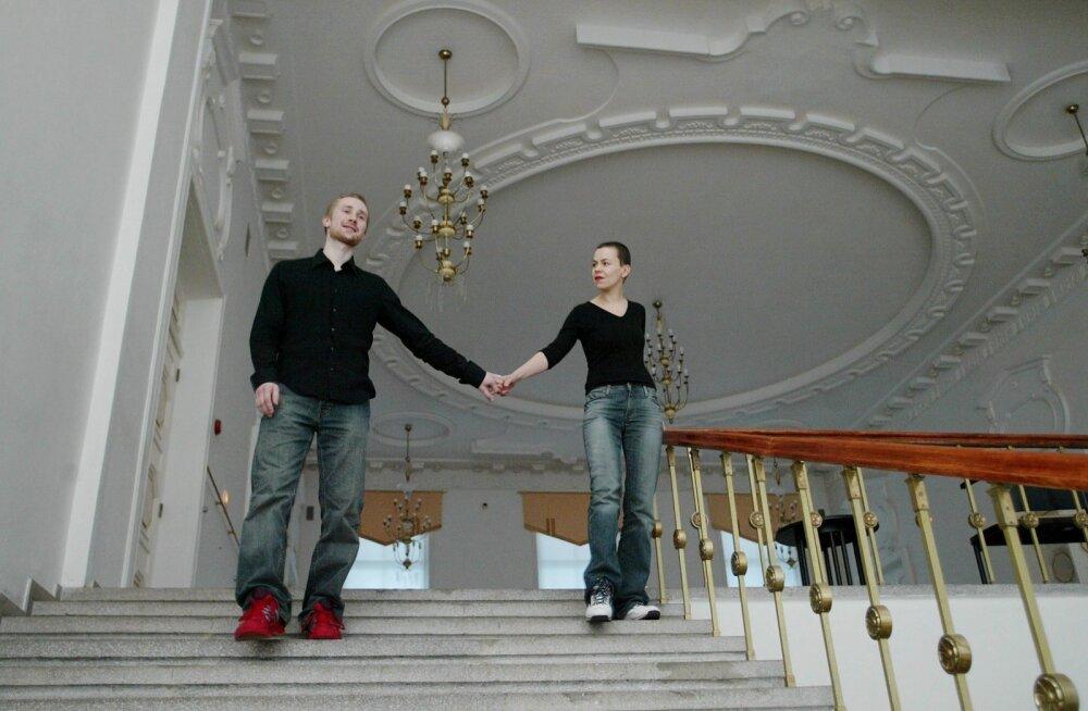Ene-Liis Semper ja Tiit Ojasoo 2004. aastal