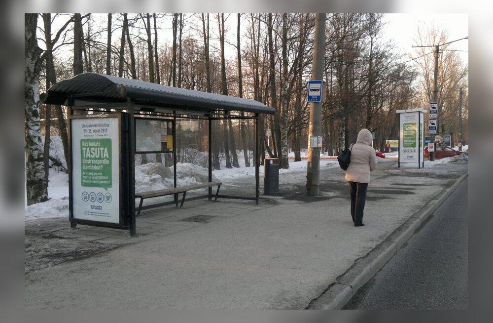 Tallinnas on liikvel siiski kaks trolli, mõned bussid ja trammid