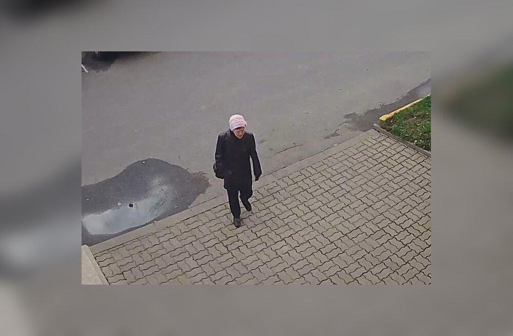ФОТО: Нарвская полиция ищет женщину, причастную к присвоению имущества