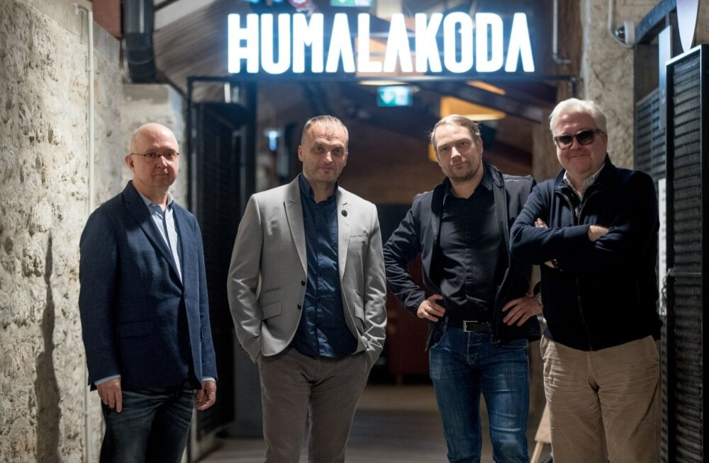 Olav Osolin, Rain Teimann, Joel Volkov ja Marek Reinaas