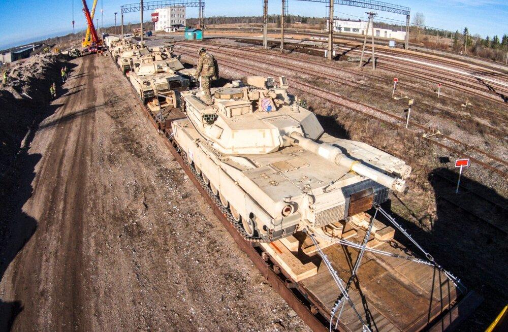 USA tankid Tapal droonipildid
