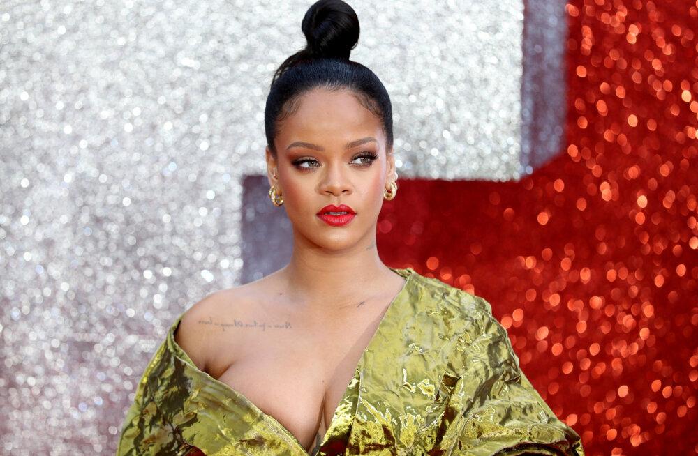 Kümne minuti video! Rihanna näitab ette, kuidas õigesti nägu jumestada, kui oled kaalus juurde võtnud