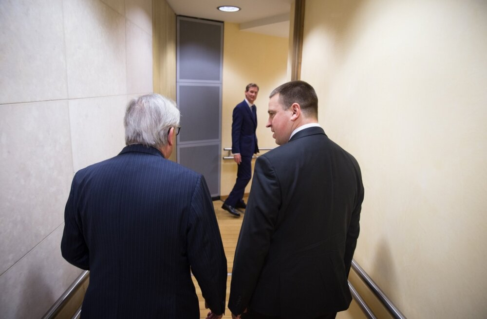Jüri Ratas ja Jan-Claude Juncker