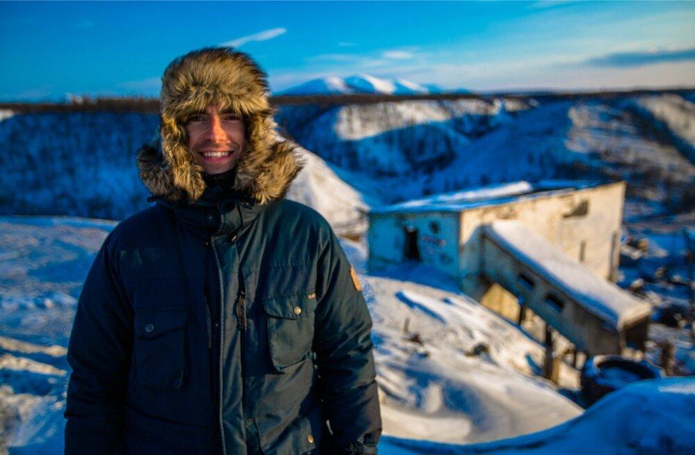 Simon Reeve teleretkel mööda Venemaad.