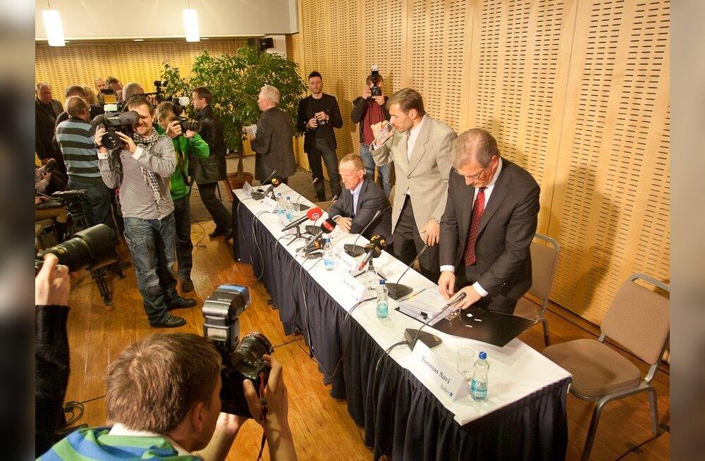 Andrus Veerpalu dopingujuhtumi pressikonverents