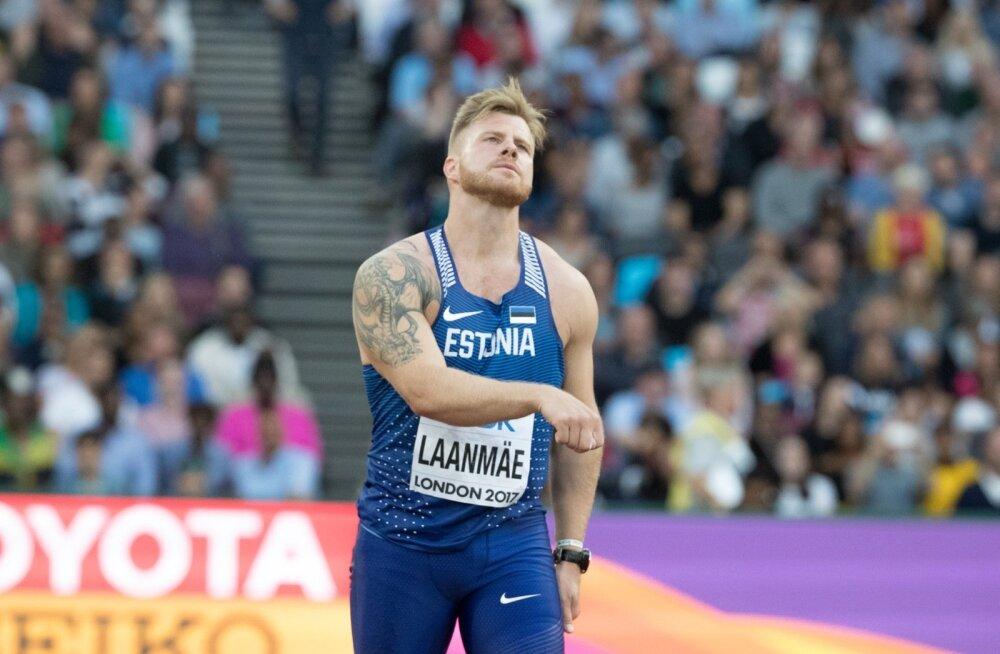 Tanel Laanmäe ei jõudnud MM-i lõppvõistlusele.