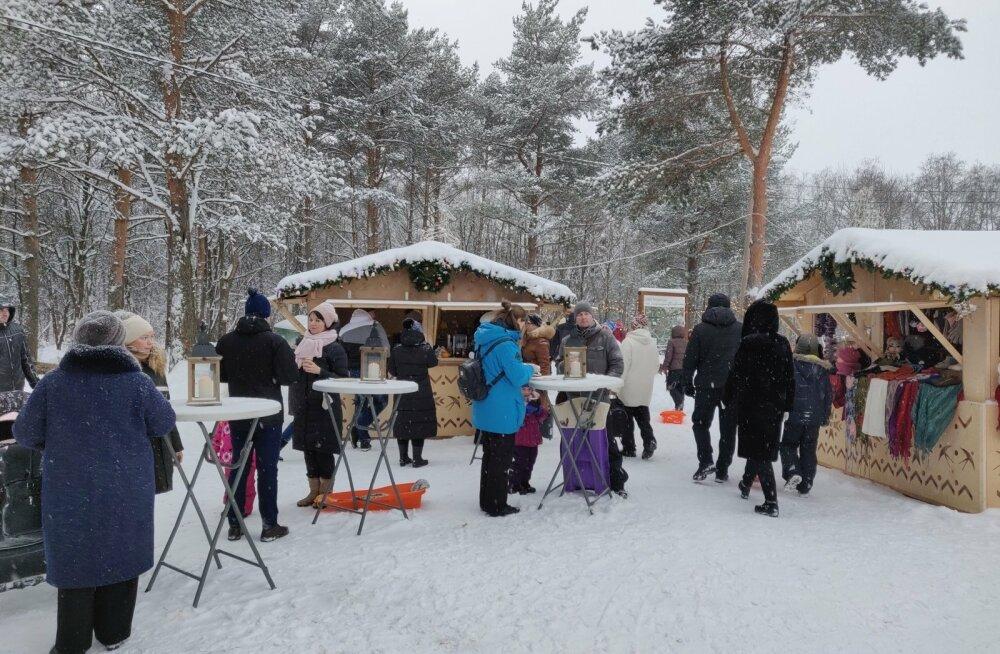 Põhjamaade jõuluküla Narvas