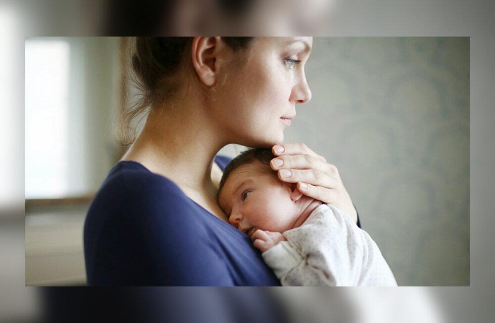 Sünnitusjärgne depressioon: abikaasa õhtune kojusaabumine oli iga päeva kõige vastikum hetk