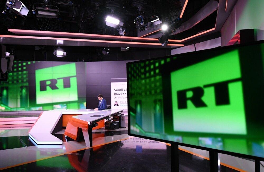 Välisagendiks registreeritud Vene propagandakanal RT kaotas akrediteeringu USA kongressi juures