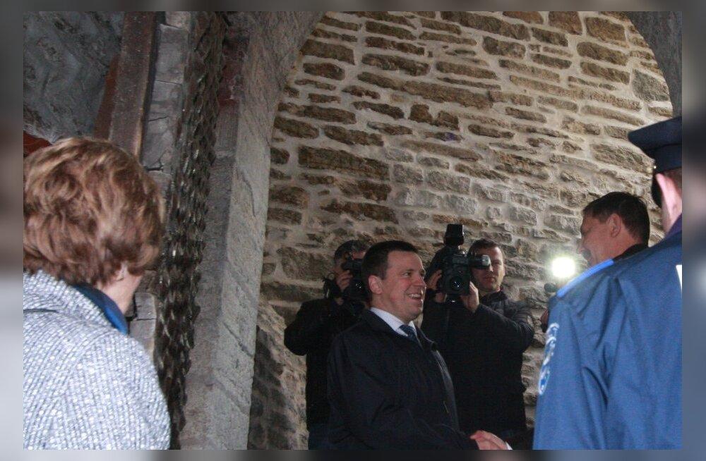 День Таллинна начался со встречи мэра с премьер-министром