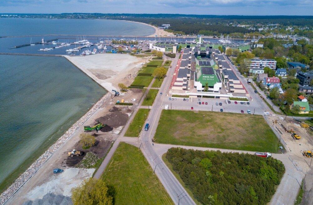 Igav liiv ja tühi väli: olümpiapurjespordikeskuse ala arendus toppab