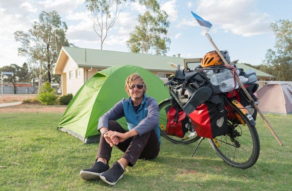 Эстонец преодолел 15 000 км на велосипеде, пока верного двухколесного друга не украли в Канаде