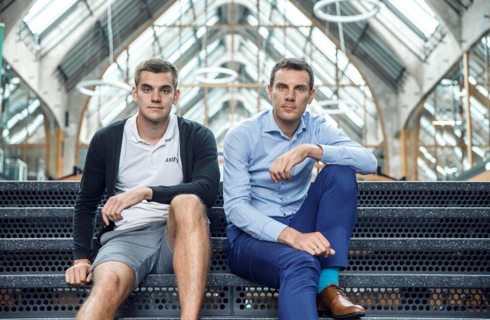 Taxify asutajad Martin ja Markus Villig