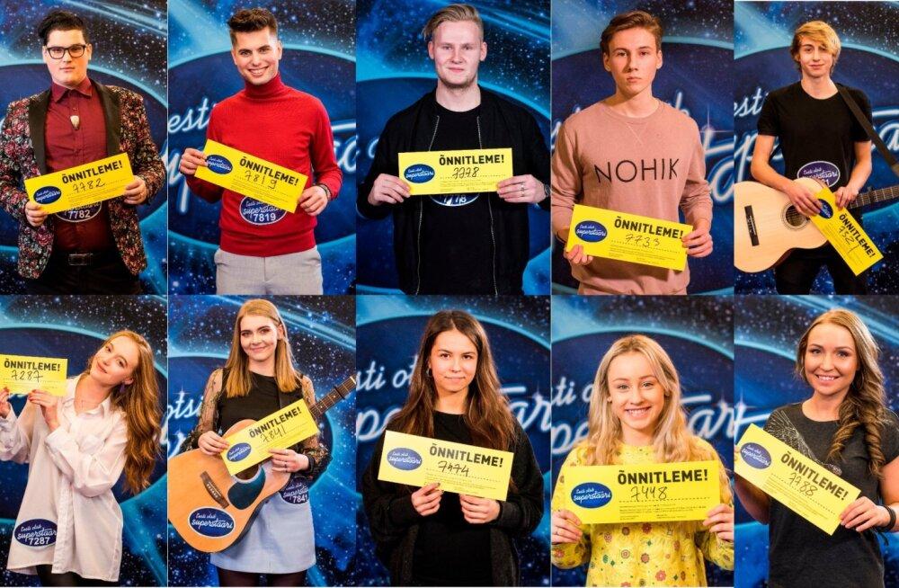 """Kas sinu lemmik sai edasi? Selgusid """"Eesti otsib superstaari"""" lohutusvoorus teise võimaluse saavad lauljad"""