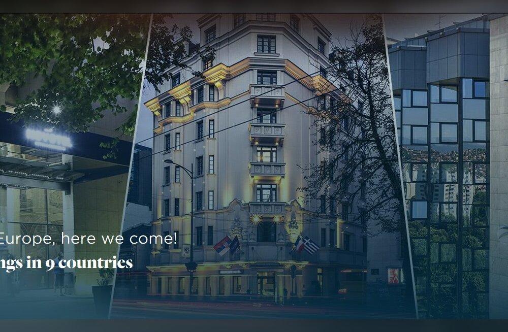 Tallinna kerkib uus hotell, sedapuhku prantslaste esindaja