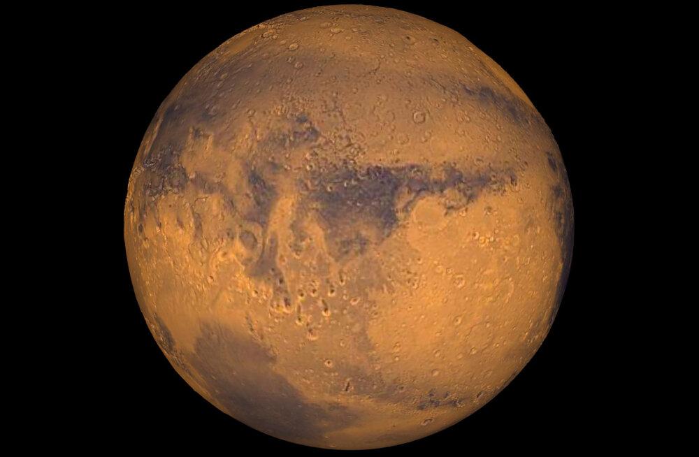 NASA teadlased: paari vesinikpommiga Marssi elukõlbulikuks ei muuda