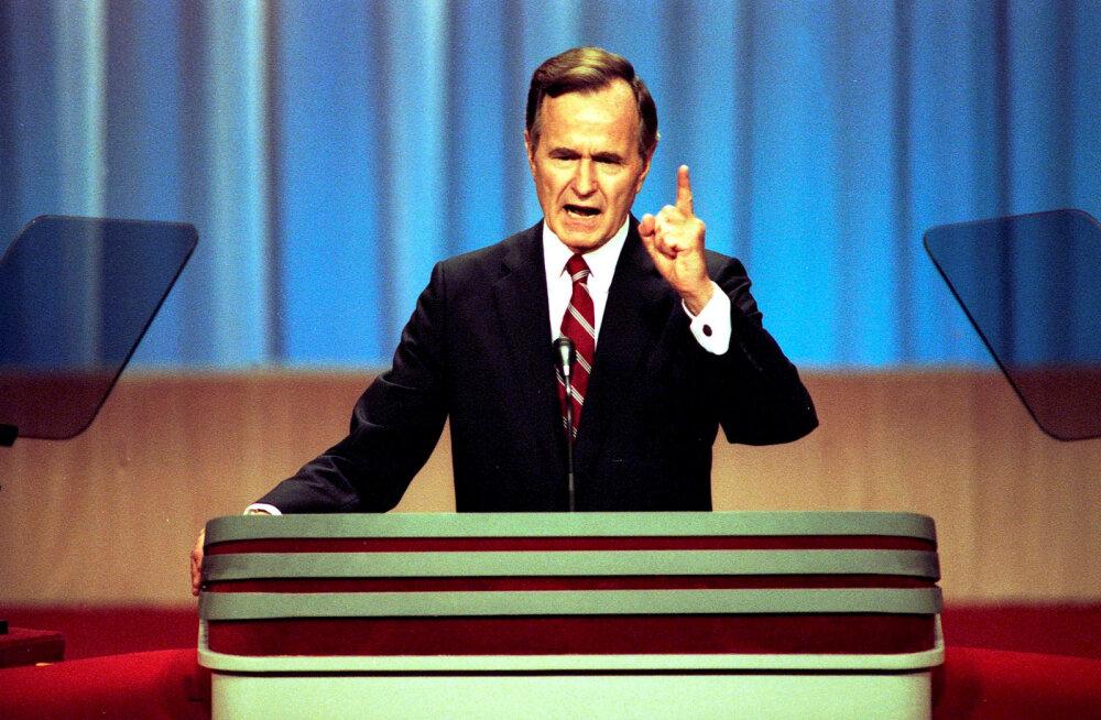 Tiit Made: George H.W. Bush nimetas meie iseseisvuspüüdeid enesetapjalikuks natsionalismiks, toetas kõigiti NSVL-i säilimist
