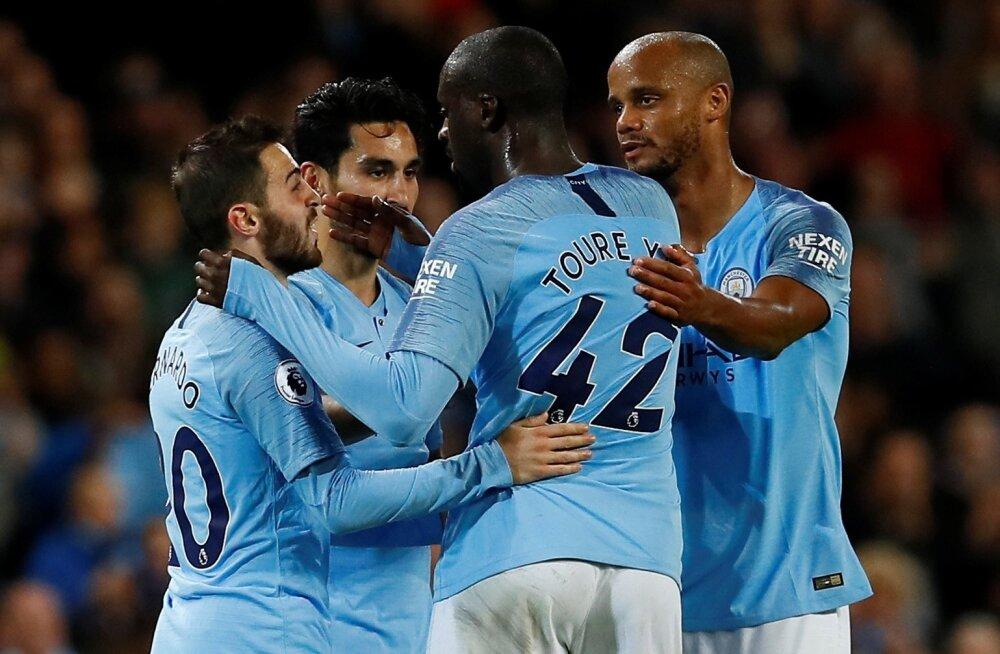 Väravaid oskavad Manchester City mehed lüüa.