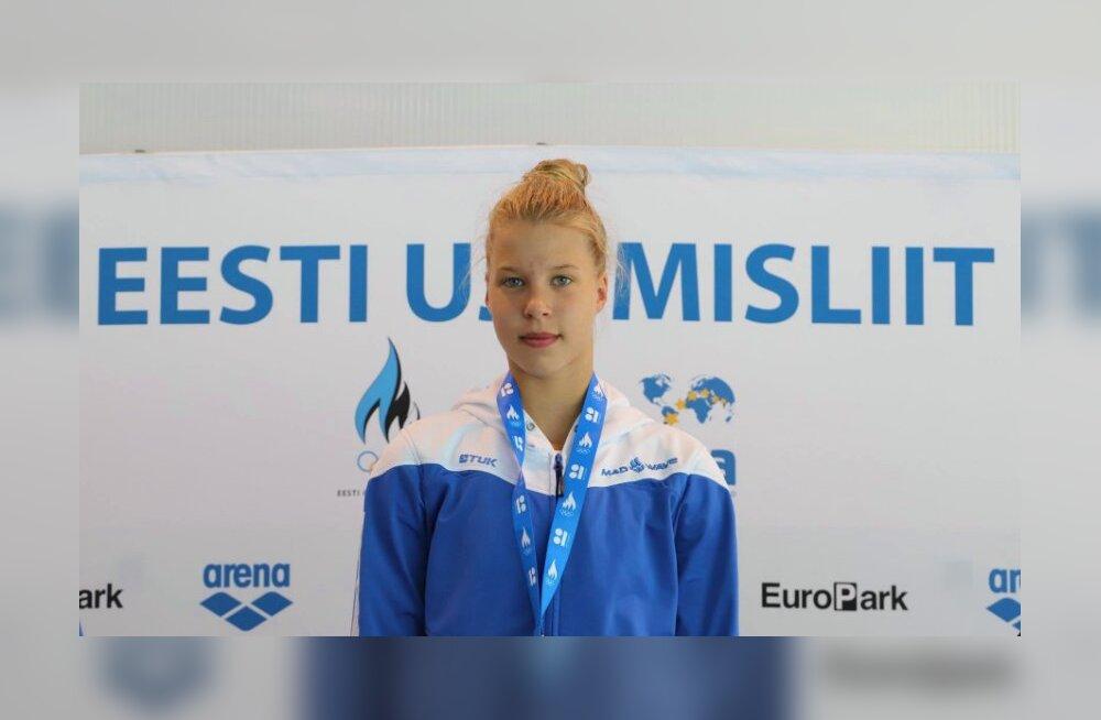 Ujumise Eesti meistrivõistluste viimasel päeval sündis ülivõimas noorte rekord