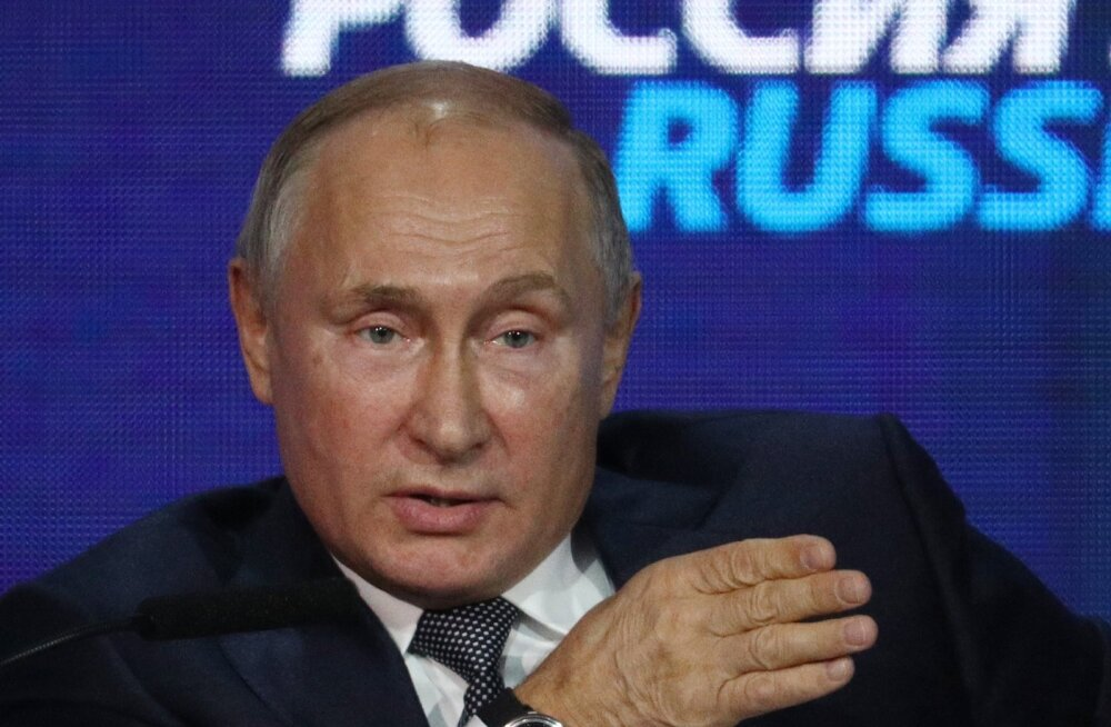 Putin: intsident Mustal merel on provokatsioon, mille korraldas Porošenko presidendivalimiste lävel
