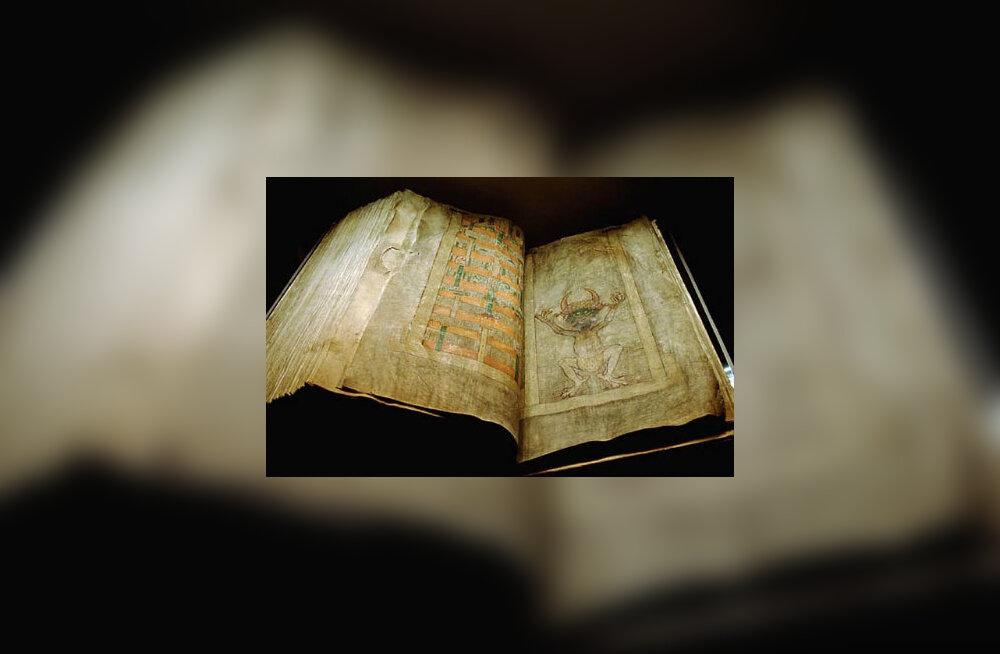 Saatana Biibel sisaldab tohutul hulgal maagilisi loitse, vaimude väljaajamise õpetusi, kõivõimalikke tarkusi ja saladusi. Foto: www.wikipedia.org