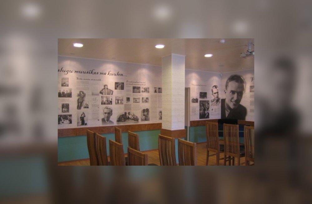 Rapla kultuurikeskuses avatakse Raimond Valgre tuba