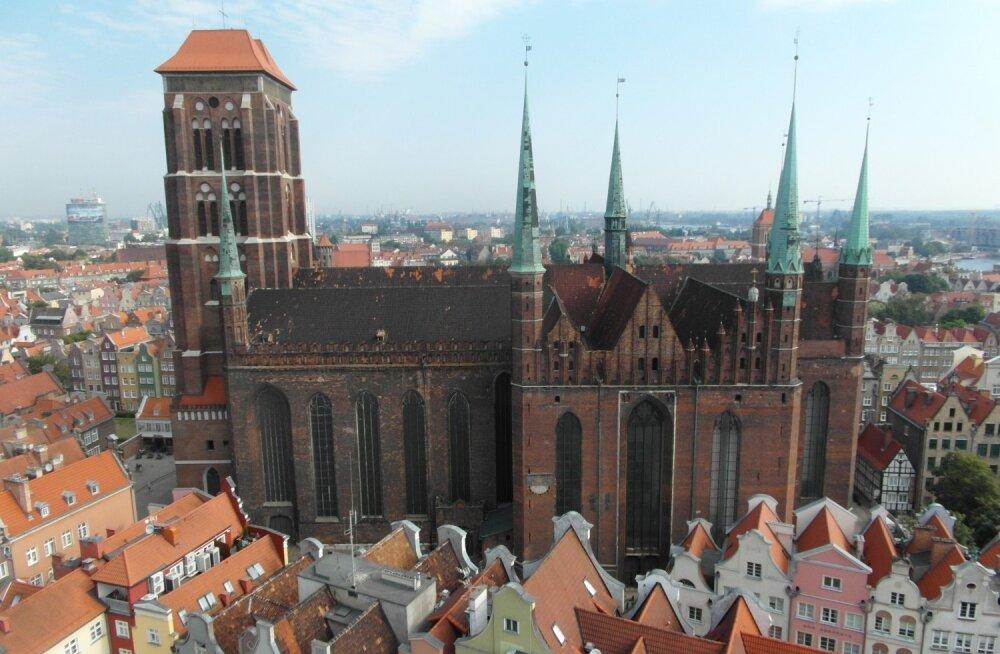 ФОТО читателя Delfi: А вы видели тысячелетний Гданьск сверху?