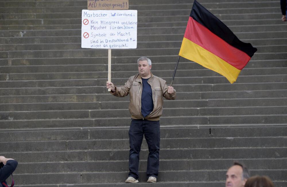 Antisemitismi küsimus ajas Saksa parempopulistid tülli
