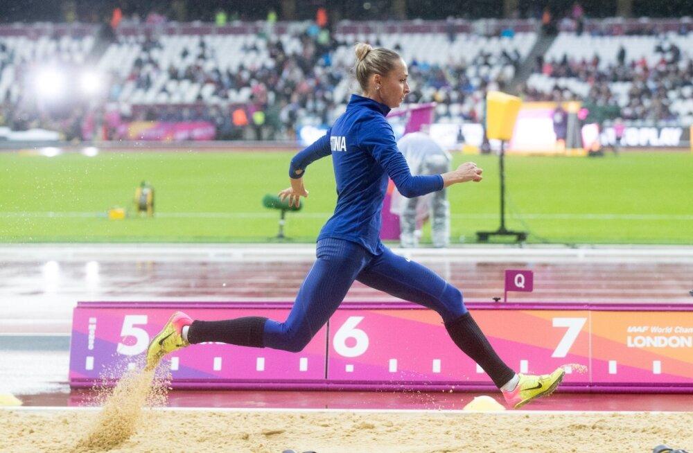 Ksenija Balta jaoks Londoni MM ebaõnnestus.