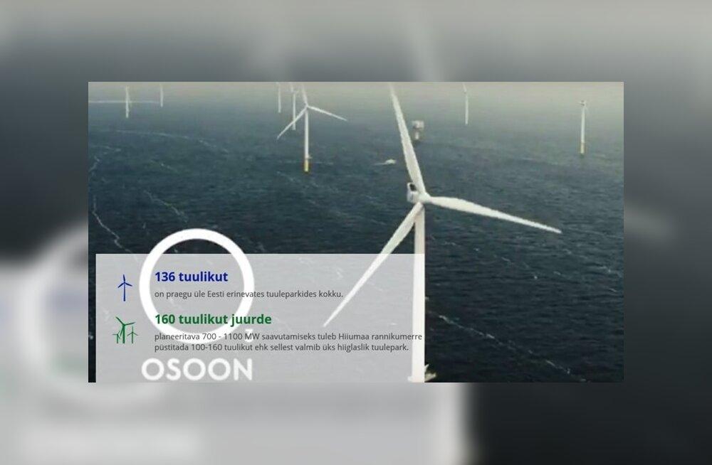Osoon uuris: Millised tuuled puhuvad Hiiumaa hiigeltuulepargi ehitamisel?
